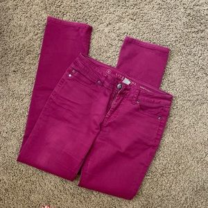 Pink Liverpool jeans